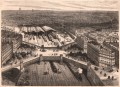 Gravure : Paris, Place de l'Europe